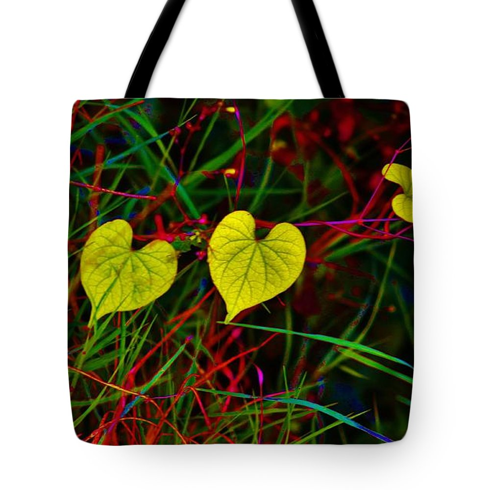 Hearts Tote Bag featuring the photograph Nature by Craig Wood