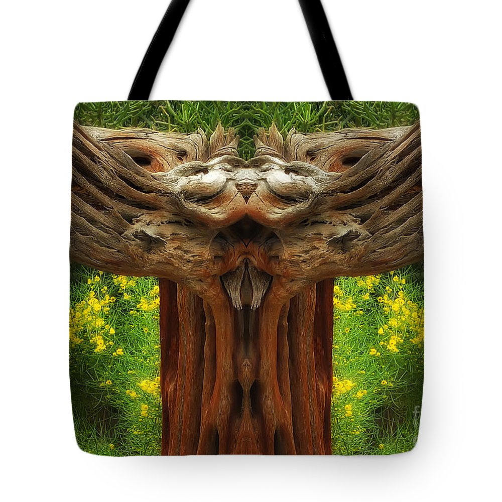 Tote Bag featuring the photograph Nature In Abstract 4 by Mike Nellums