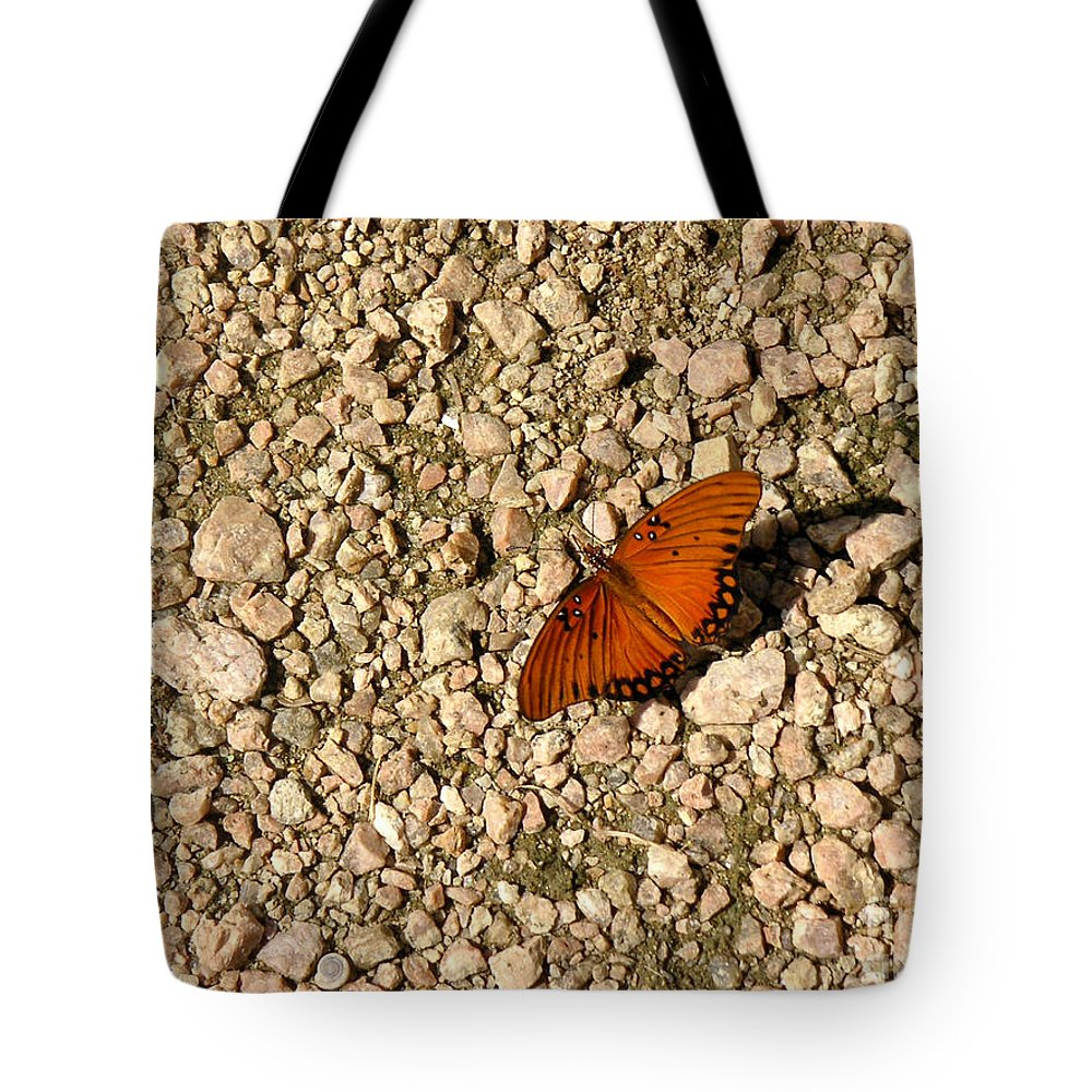 Nature Tote Bag featuring the photograph Nature In The Wild - A Splash Of Color On The Rocks by Lucyna A M Green