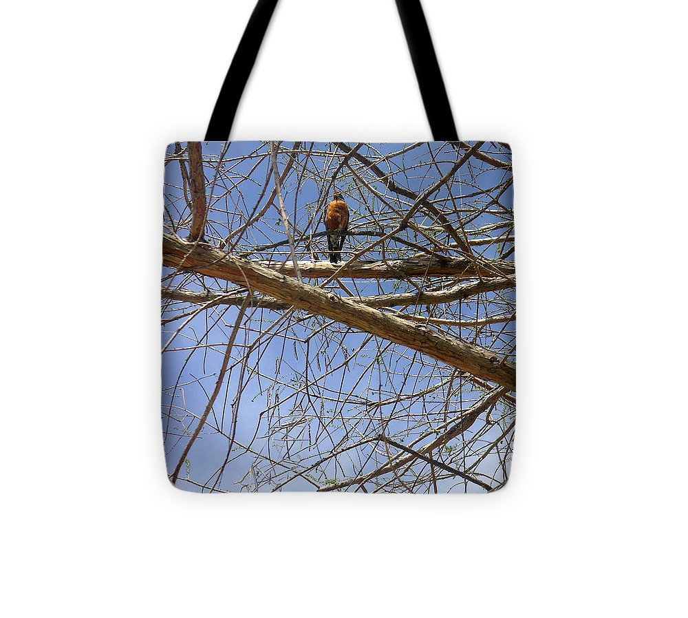 Nature Tote Bag featuring the photograph Nature In The Wild - Annoucing Spring by Lucyna A M Green