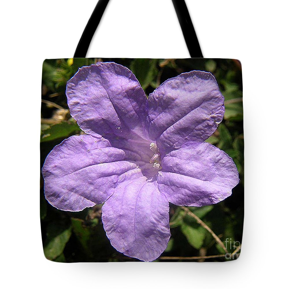 Nature Tote Bag featuring the photograph Nature In The Wild - Purple Paper by Lucyna A M Green