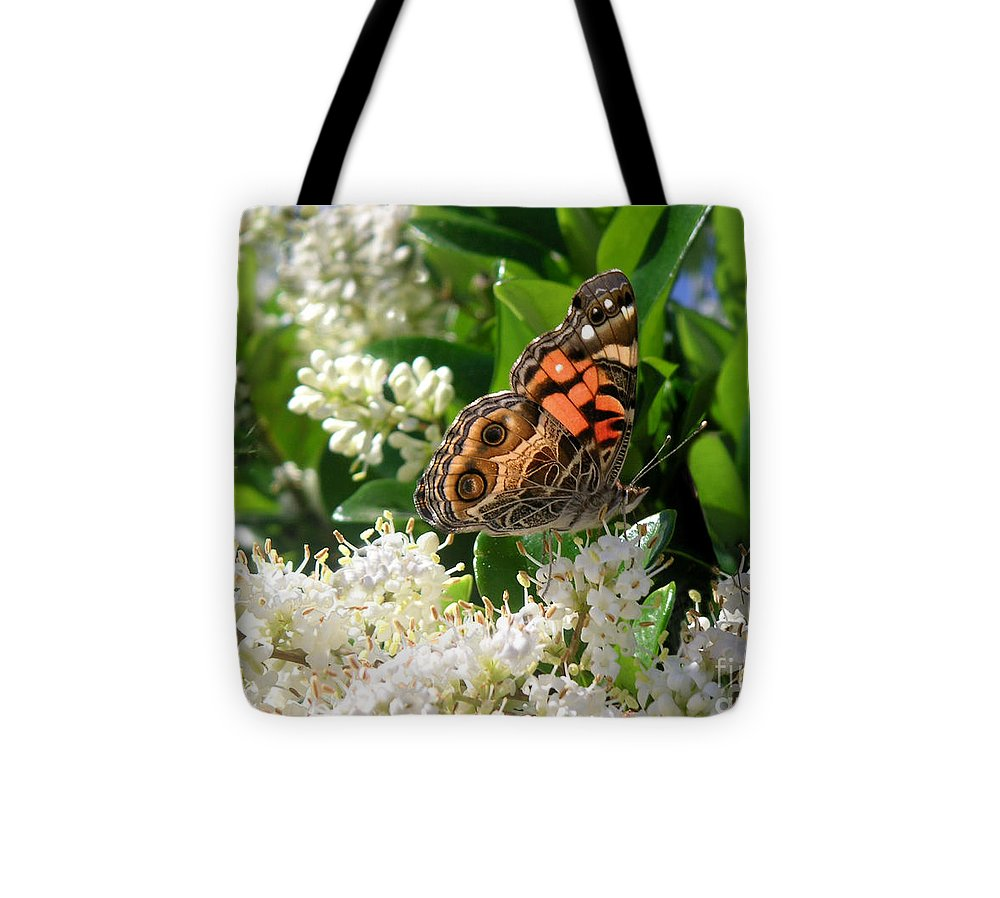 Nature Tote Bag featuring the photograph Nature In The Wild - Stained Glass by Lucyna A M Green