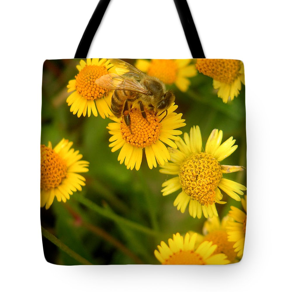 Nature Tote Bag featuring the photograph Nature In The Wild - The Nectar Company by Lucyna A M Green