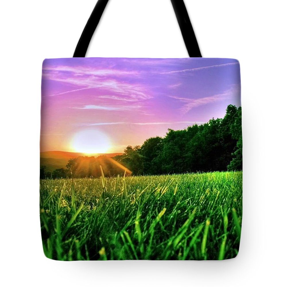 Mountains Tote Bag featuring the photograph Nature by Mitch Cat