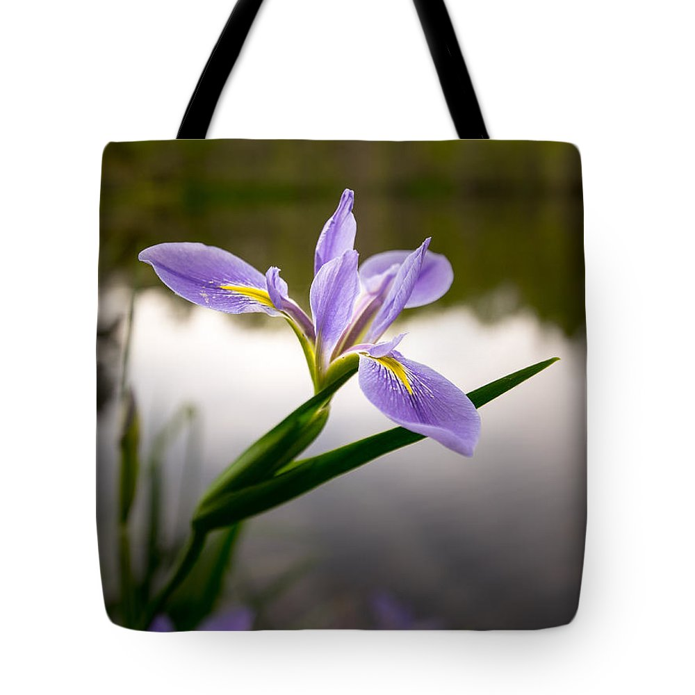 Flower Tote Bag featuring the photograph Nature Standing by Matthew Trudeau