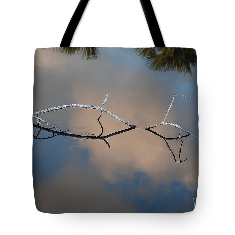 Pink Tote Bag featuring the photograph Natures Bridge In Color by Rob Hans