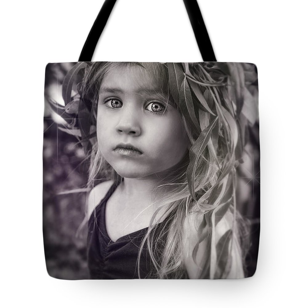 Flowers Tote Bag featuring the photograph Natures Daughter by Nichon Thorstrom