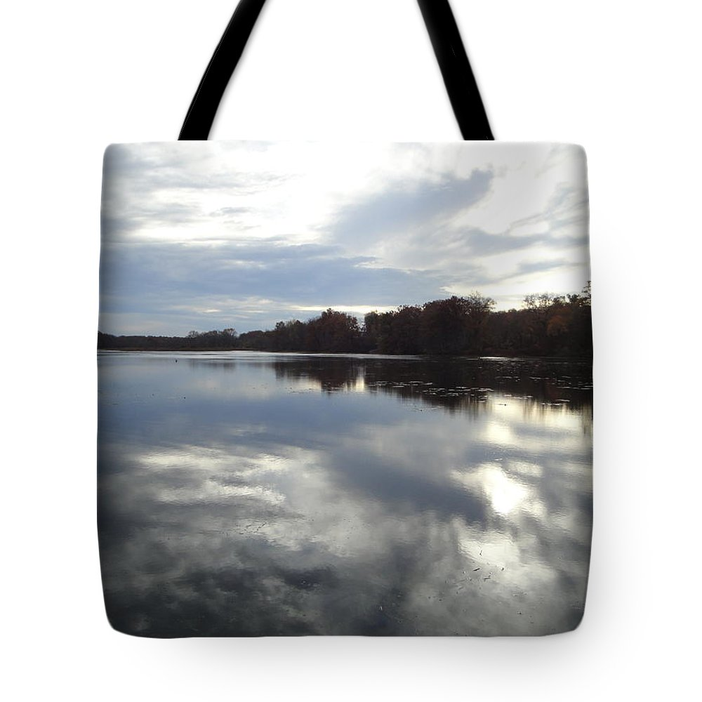Autumn Landscape Tote Bag featuring the photograph Nature's Expression-14 by Leonard Holland