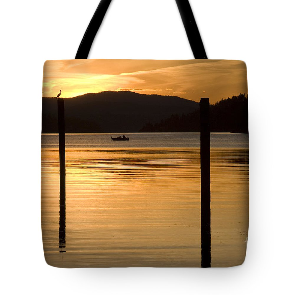 Bird Tote Bag featuring the photograph Natures Spotlight by Idaho Scenic Images Linda Lantzy