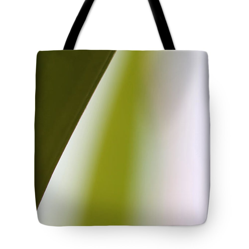 Abstract Art Tote Bag featuring the photograph Natures Swerve by Amanda Barcon