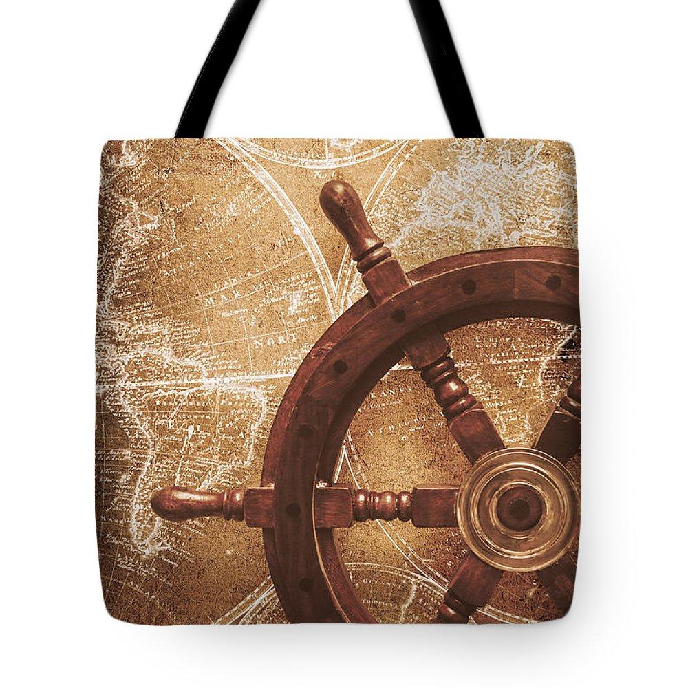 Olden Day Digital Art Tote Bags