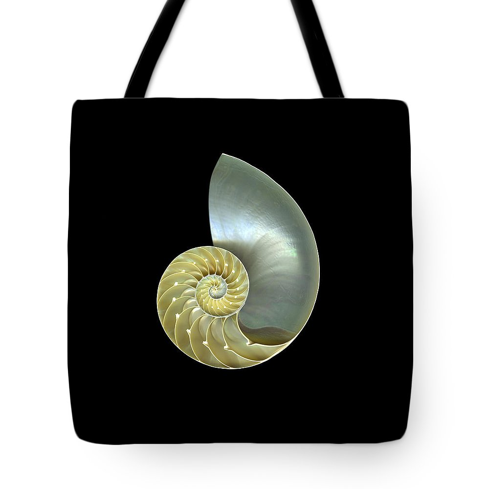 Slanec Tote Bag featuring the photograph Nautilus Nr.1 by Christian Slanec