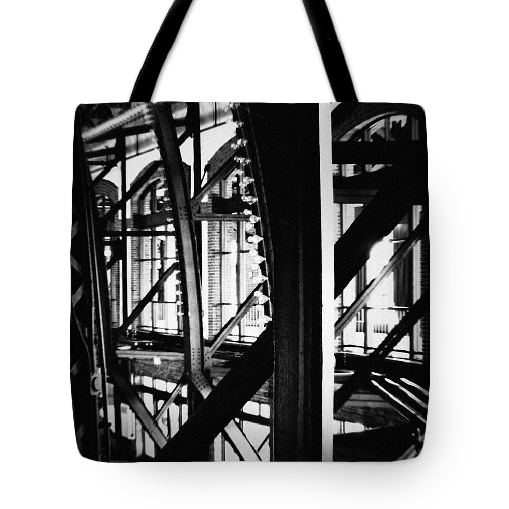 Chicago Tote Bag featuring the photograph Navy Pier Grand Ballroom by Kyle Hanson