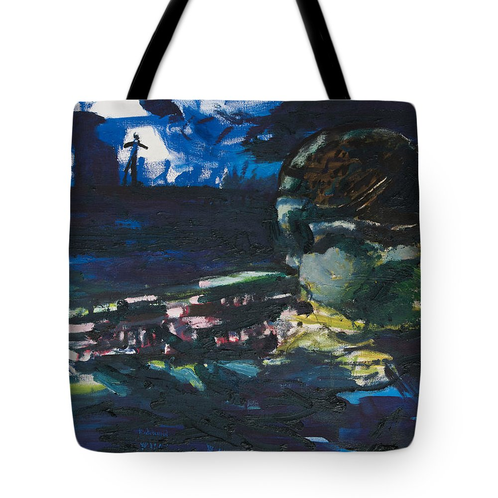 Navy Seal Tote Bag featuring the painting Navy Seal by Craig Newland