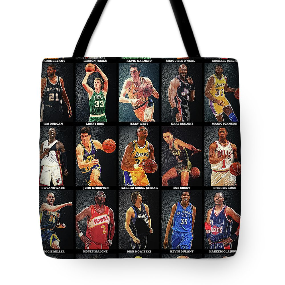 Larry Bird Tote Bags