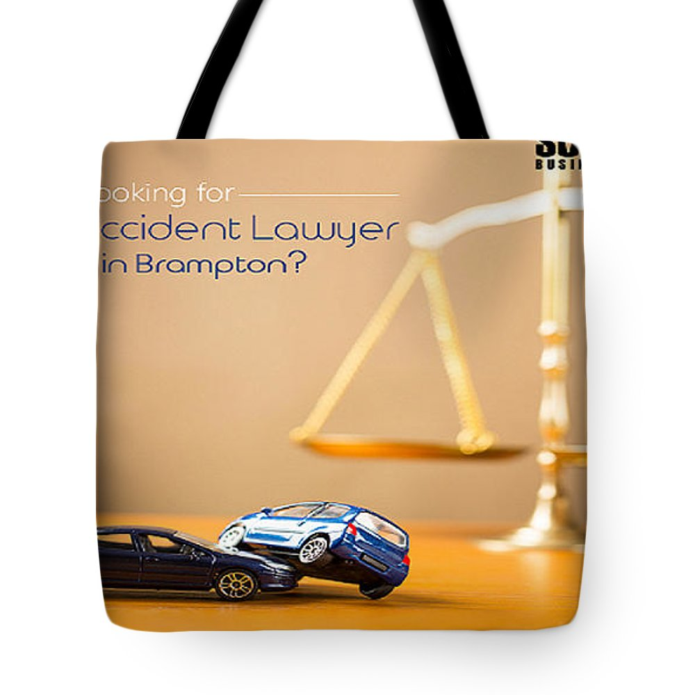 Accident Lawyer In Brampton Tote Bag featuring the photograph Need Accident Lawyer In Brampton With Successbusinesspages? by Luciapeter