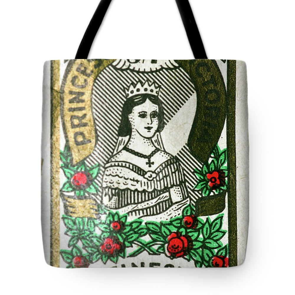 Label Tote Bag featuring the photograph Needle Wrapper by Jarmo Honkanen