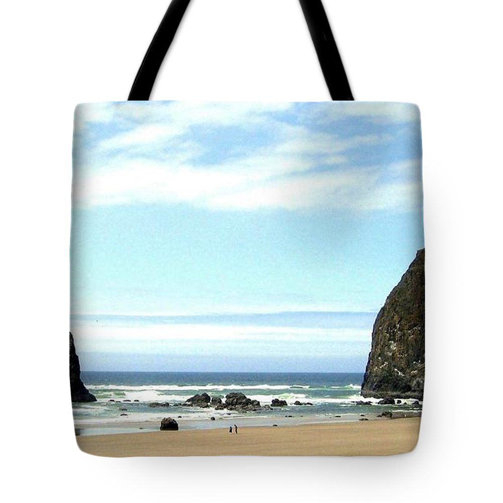 Needles Tote Bag featuring the photograph Needles And The Haystack by Will Borden