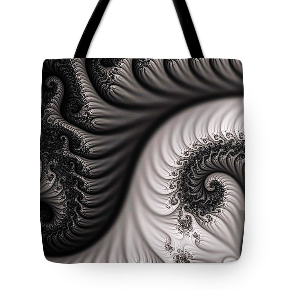 Clay Tote Bag featuring the digital art Neighborhood by Clayton Bruster
