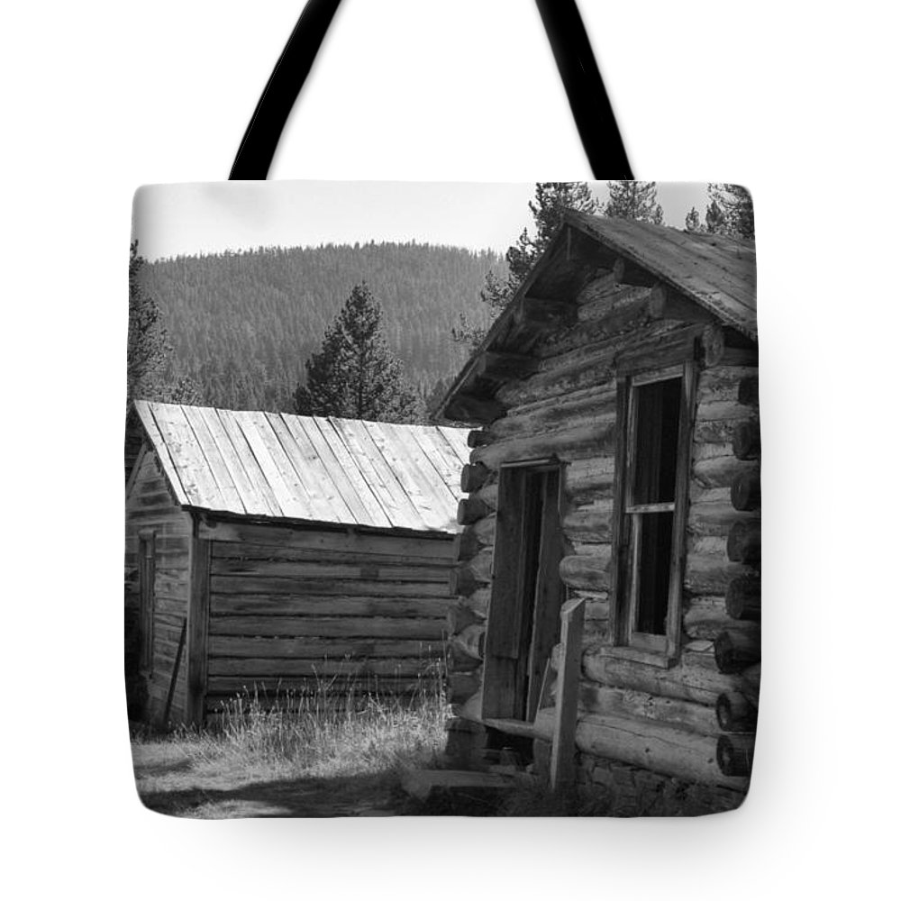 Abandoned Tote Bag featuring the photograph Neighbors by Richard Rizzo