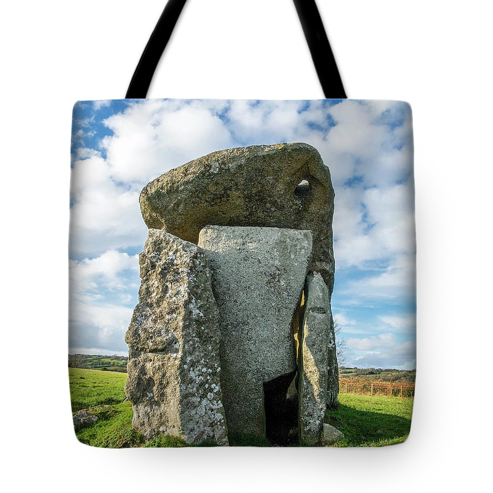 Architecture Tote Bag featuring the photograph Neolithic Modern by Sallye Wilkinson