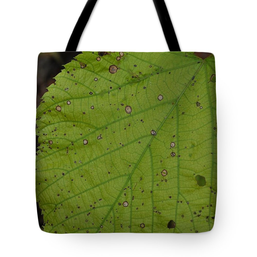 Green Tote Bag featuring the photograph Neon Greens by JAMART Photography