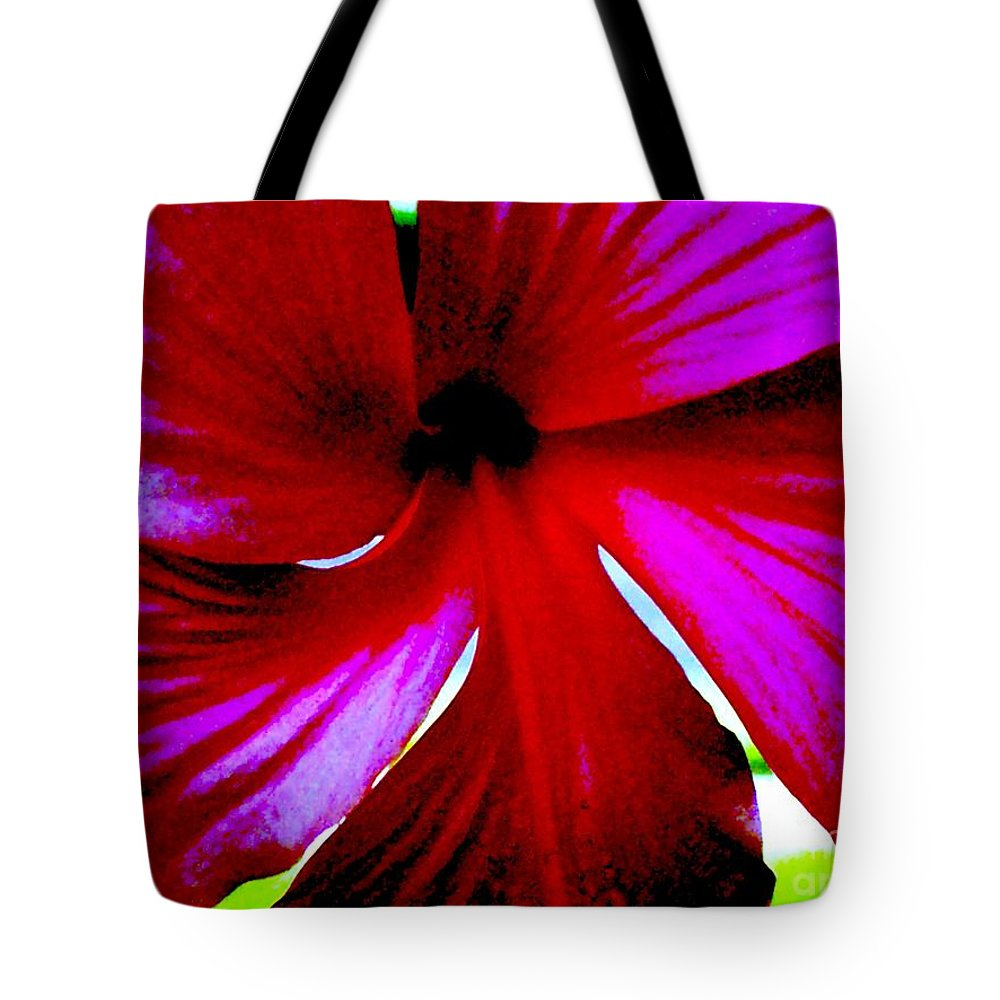 Flower Tote Bag featuring the photograph Neon Magnolia by Vicki Lynn Sodora