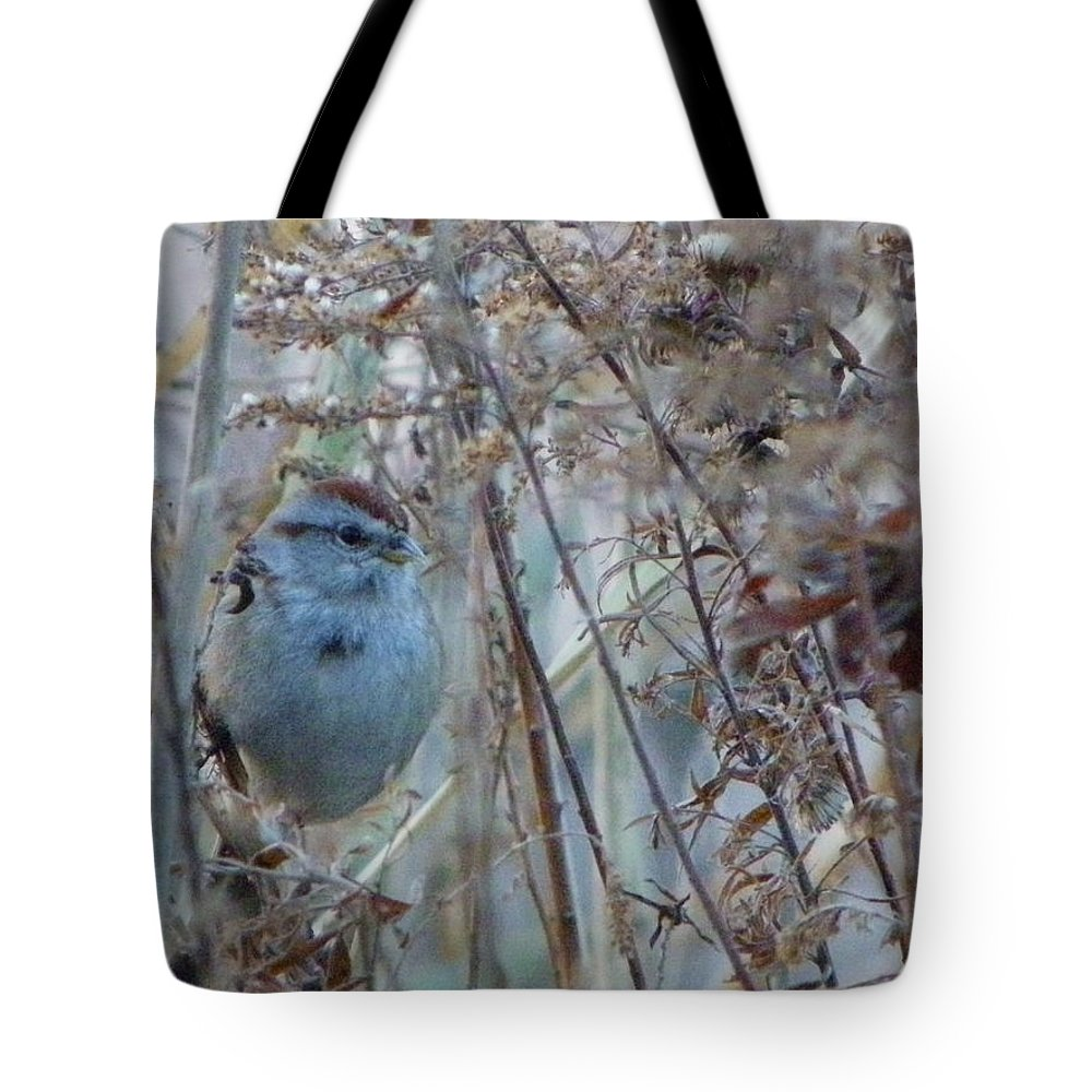Nature Tote Bag featuring the photograph Nestled In by Peggy King