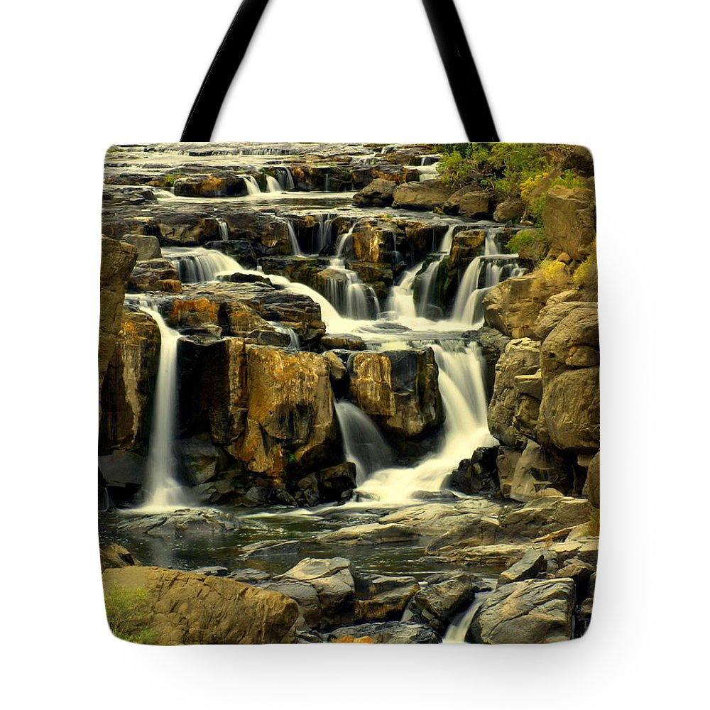 Waterfall Tote Bag featuring the photograph Nevada Falls 5 by Marty Koch