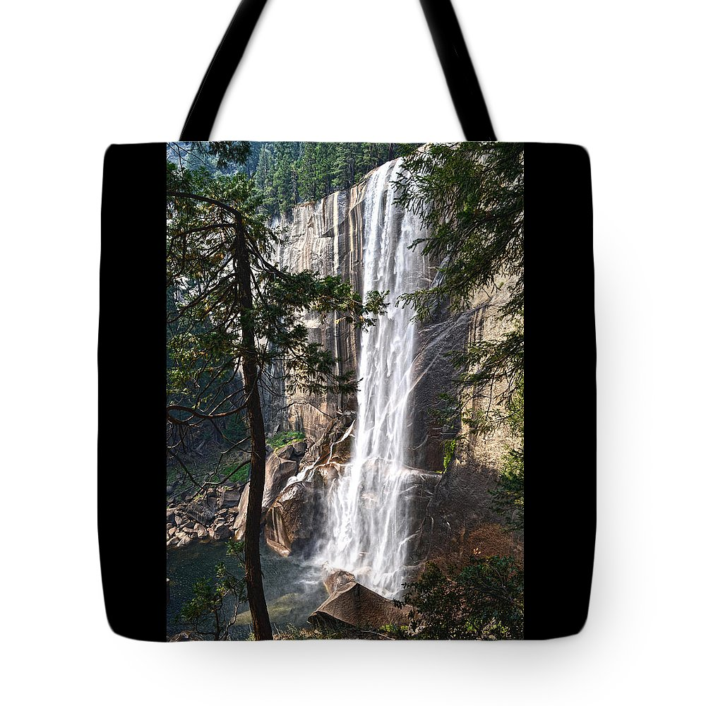 Nevada Falls Tote Bag featuring the photograph Nevada Falls by Elizabeth Palmer
