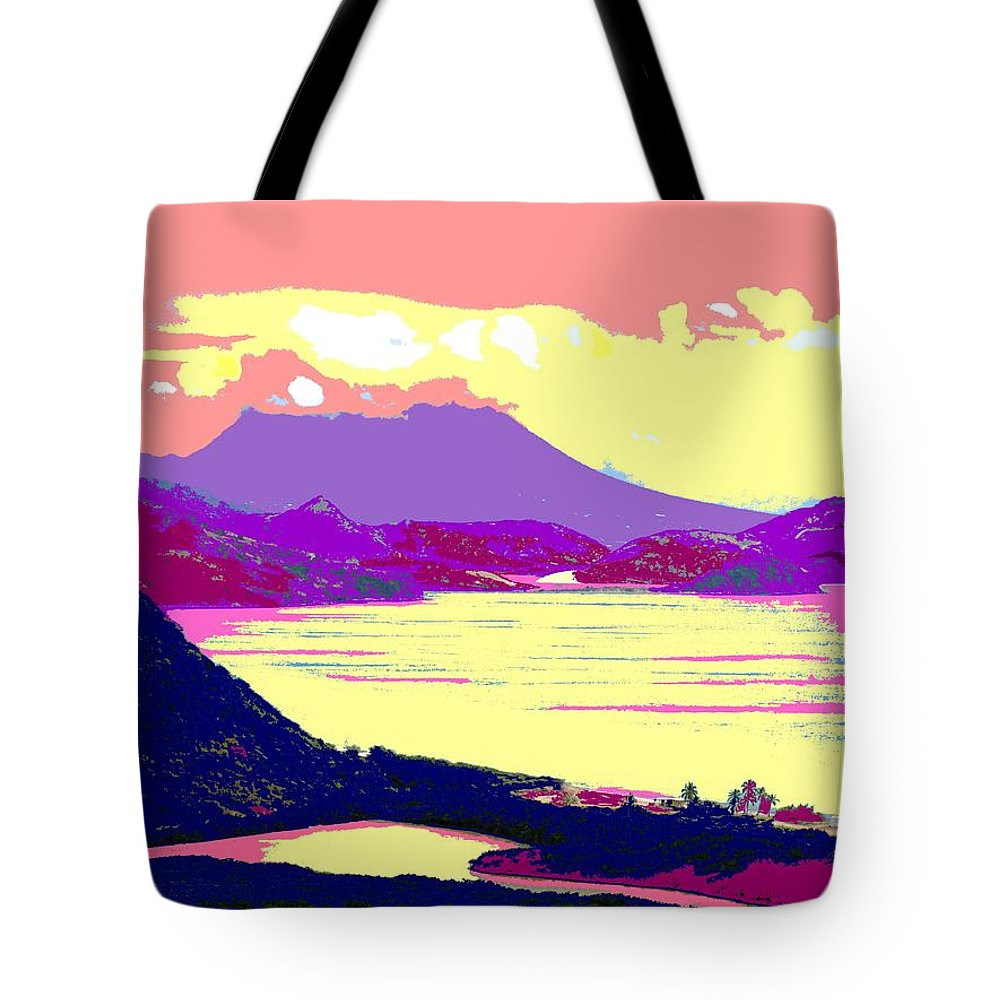 Nevis Tote Bag featuring the photograph Nevis From The Penninsula by Ian MacDonald
