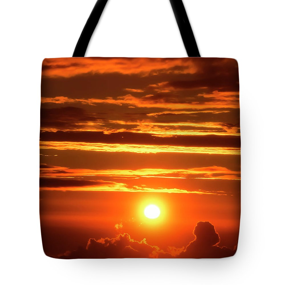 Haleakala Tote Bag featuring the photograph New Dawning by Jim Cazel
