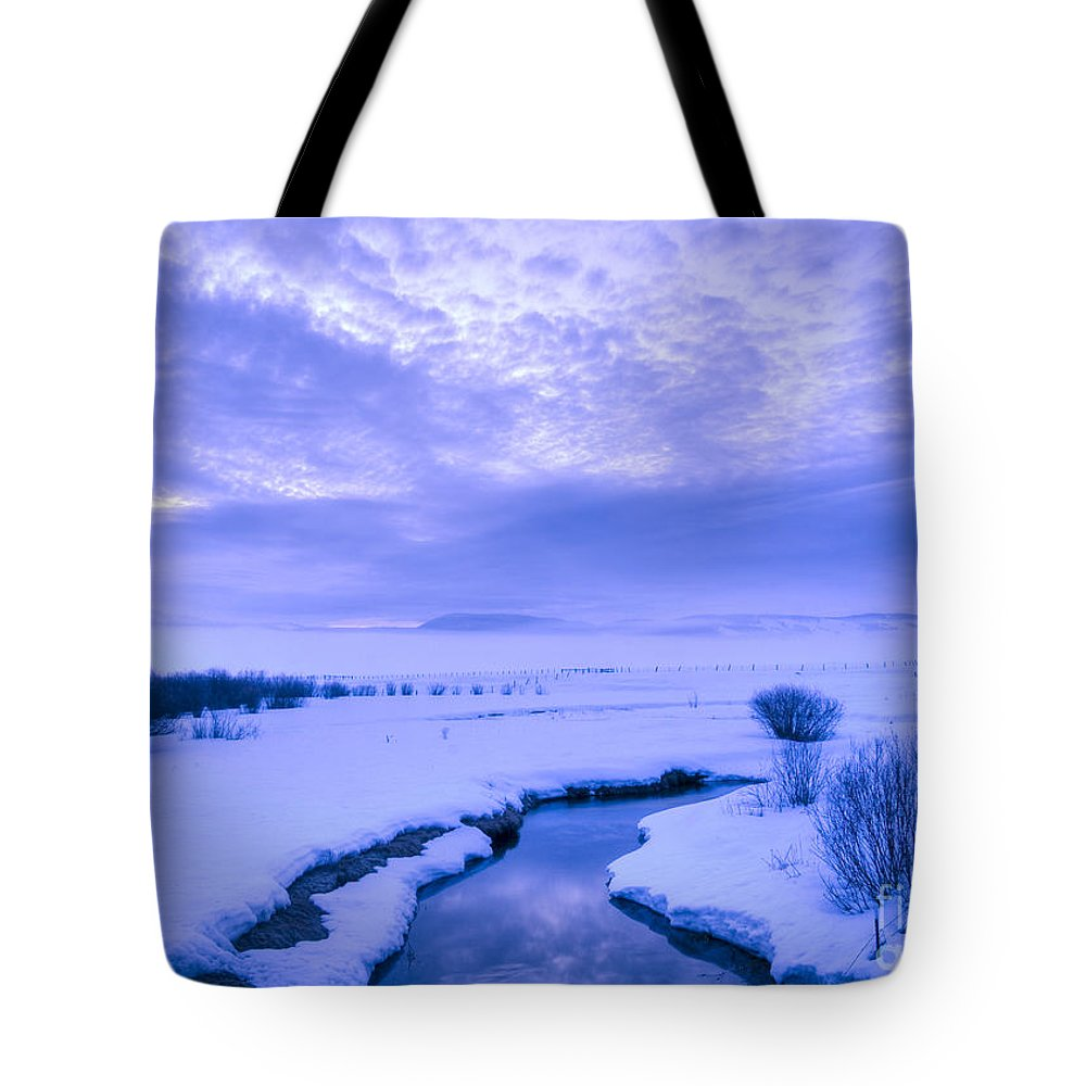Dawn Tote Bag featuring the photograph New Day At New Meadows by Idaho Scenic Images Linda Lantzy