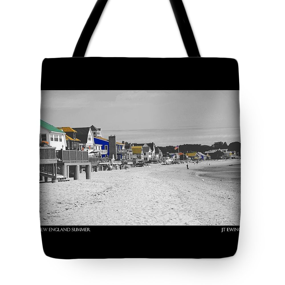 Summer Tote Bag featuring the photograph New England Summer by J Todd