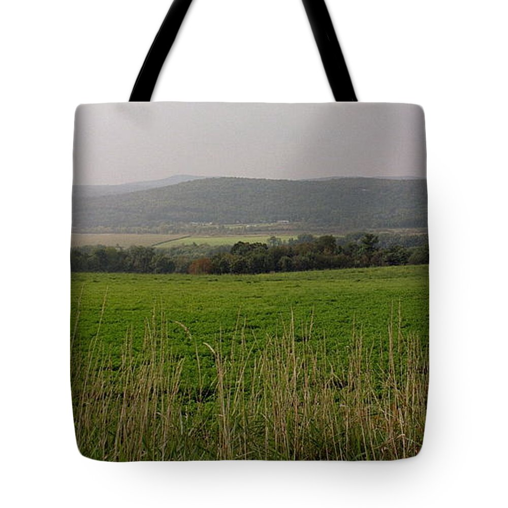 New England Tote Bag featuring the photograph New England's Farmland by Nancie DeMellia