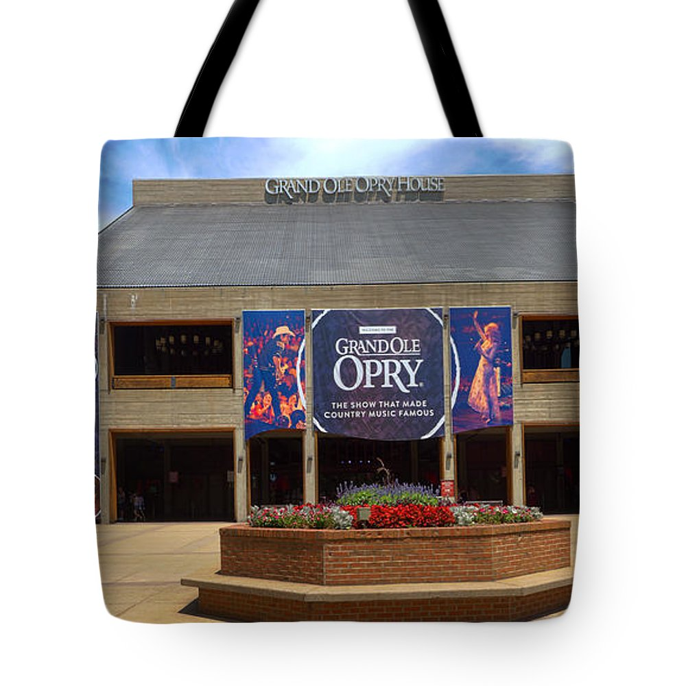 Grand Ole Opry Tote Bag featuring the photograph New Grand Ole Opry House by C H Apperson