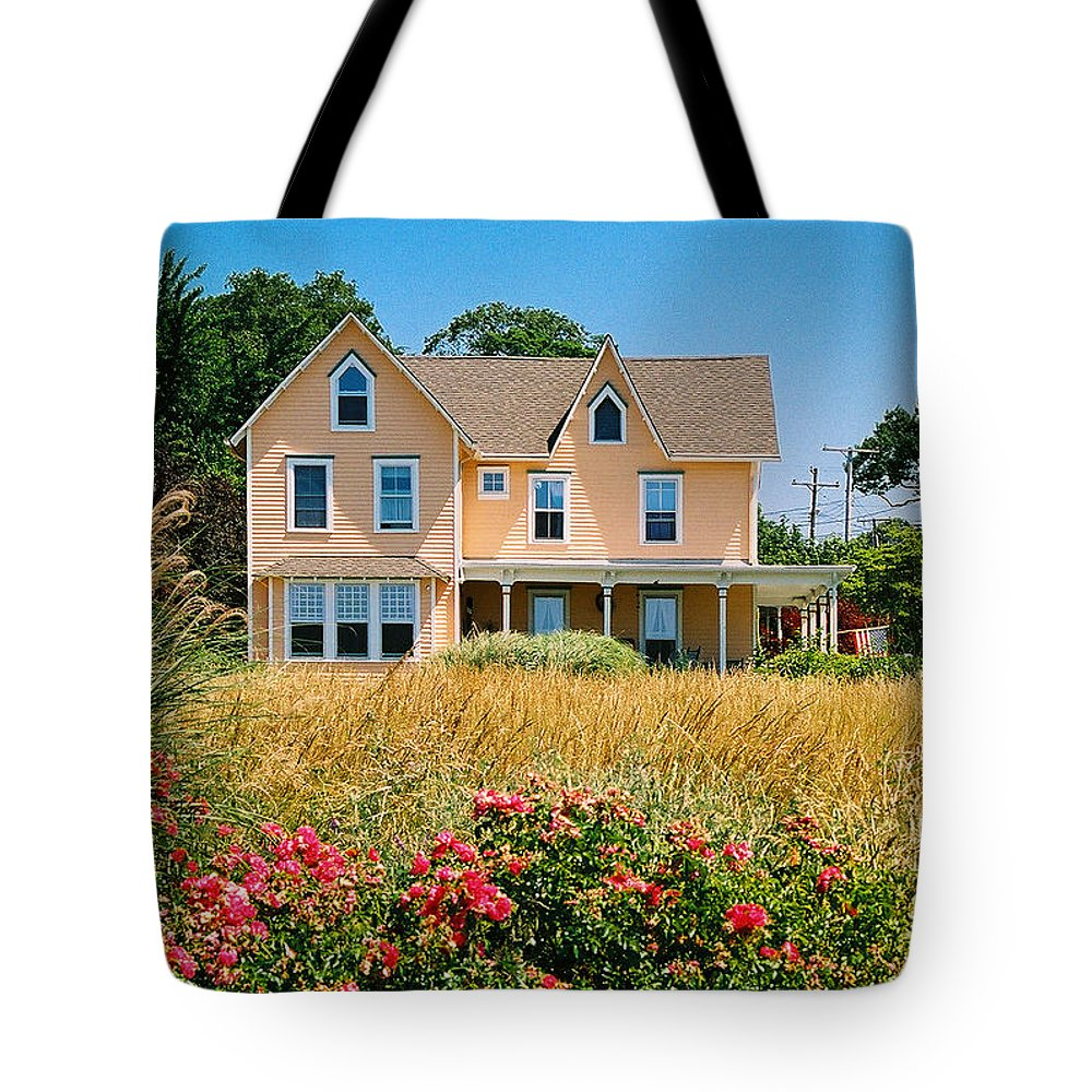 Landscape Tote Bag featuring the photograph New Jersey Landscape by Steve Karol
