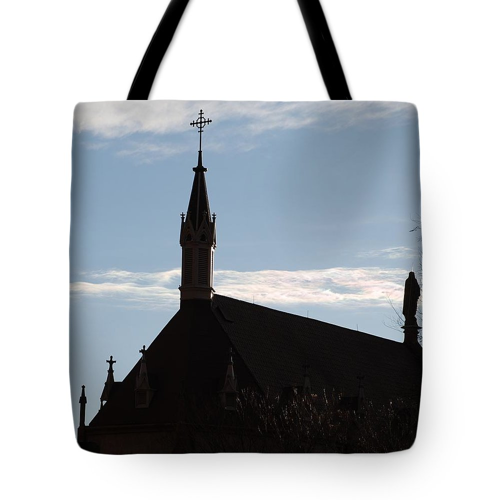 Church Tote Bag featuring the photograph New Mexican Church by Rob Hans