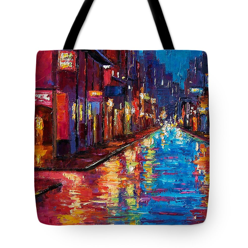 New Orleans Tote Bag featuring the painting New Orleans Magic by Debra Hurd