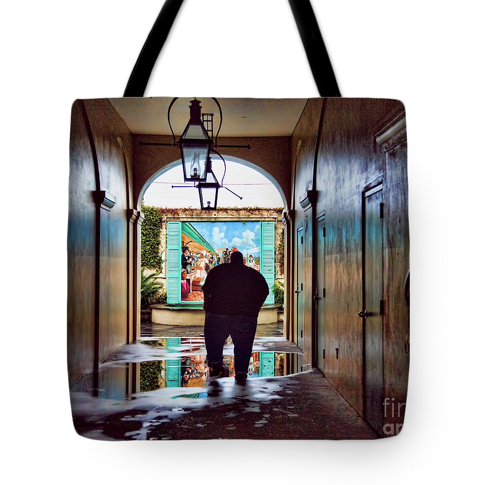 New Orleans Tote Bag featuring the photograph New Orleans Street Photography by Chuck Kuhn