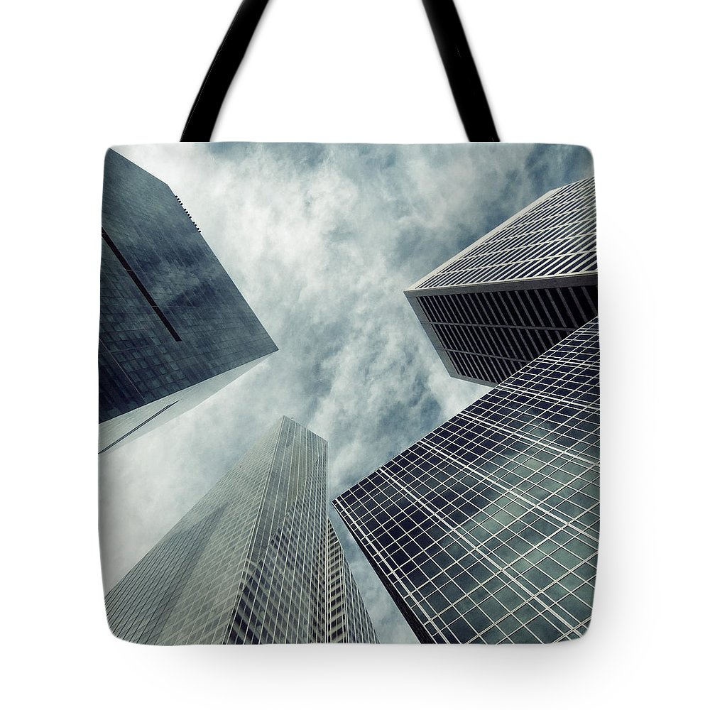New York Tote Bag featuring the photograph New York Blue by Nadia Di Silvestro