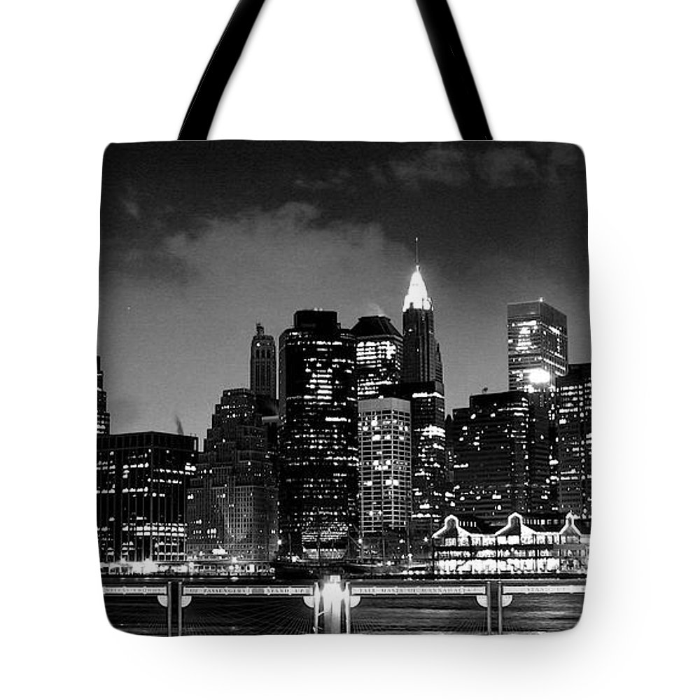 New York Tote Bag featuring the photograph New York by Joyce Sherwin