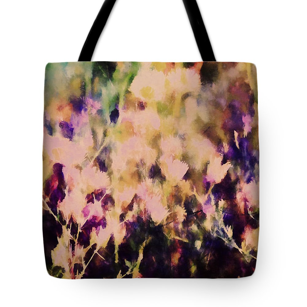 Flowers Tote Bag featuring the photograph New York Wildflowers Xiii by Tina Baxter