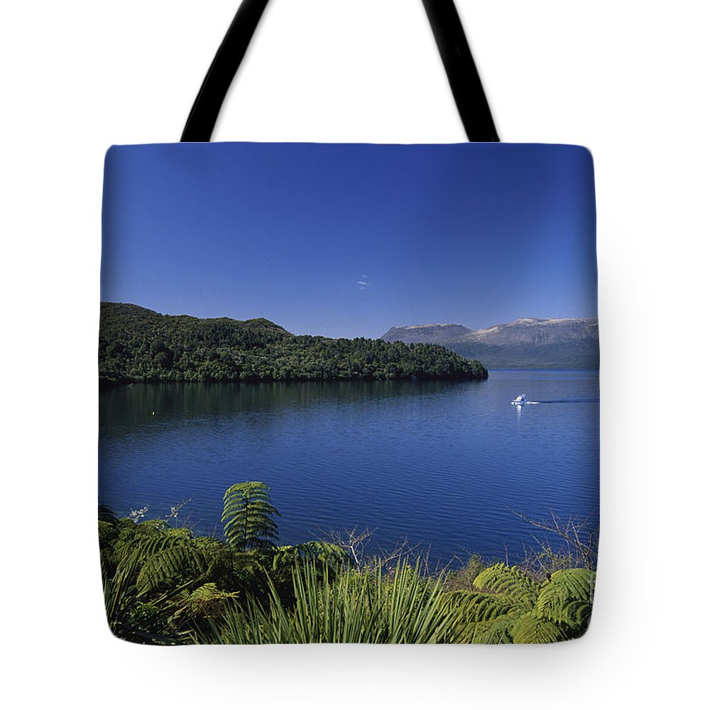 Beautiful Tote Bag featuring the photograph New Zealand, Rotorua by Greg Vaughn - Printscapes