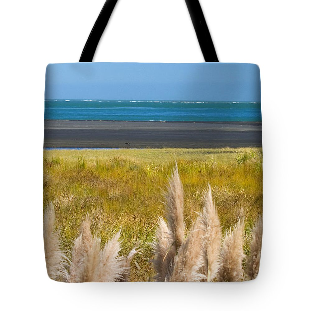 Afternoon Tote Bag featuring the photograph New Zealand by Tomas del Amo - Printscapes