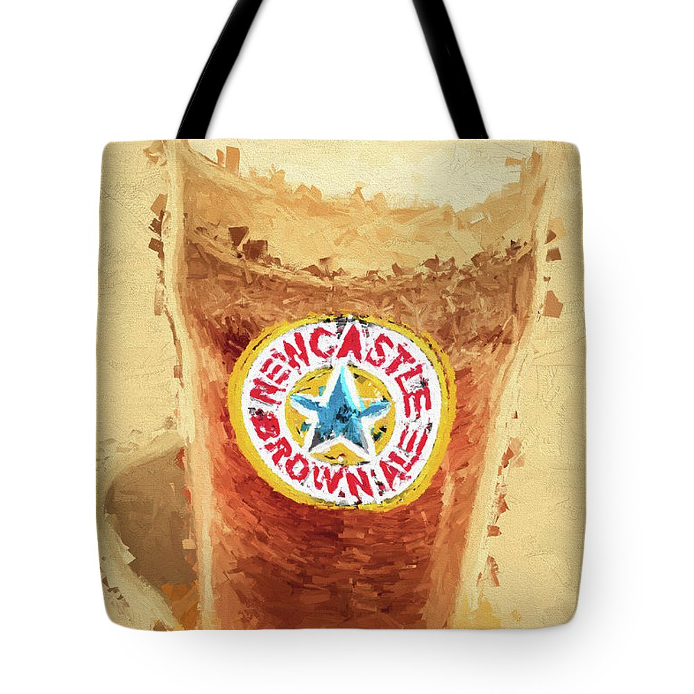 Newcastle Brown Ale Digital Artwork Tote Bag for Sale by Jorgo ...