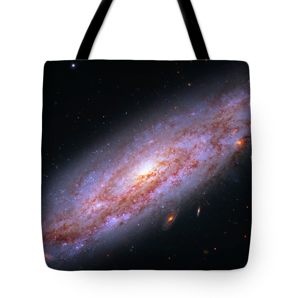 Ngc 3972 Tote Bag featuring the photograph Ngc 3972 by Ricky Barnard
