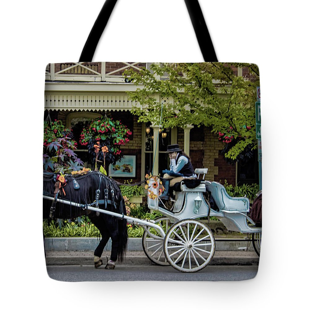 Canada Tote Bag featuring the photograph Niagara On The Lake by Martin Newman