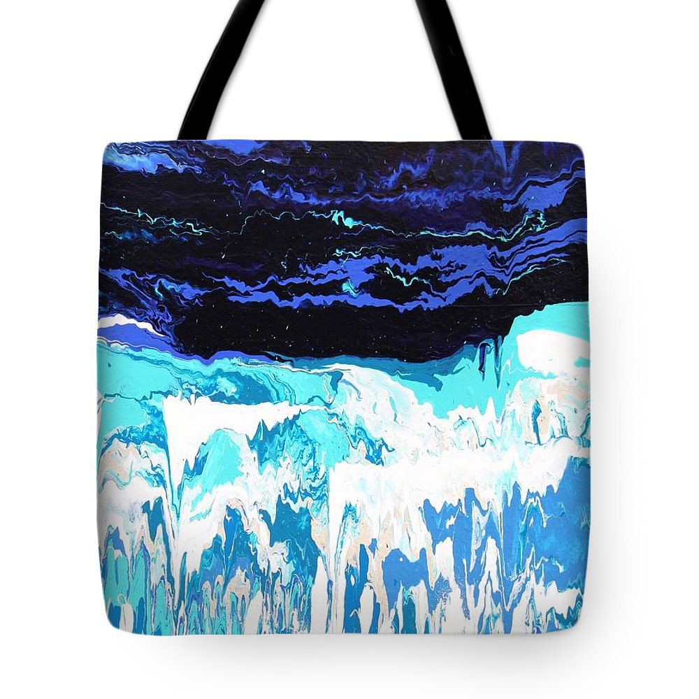 Fusionart Tote Bag featuring the painting Niagara by Ralph White