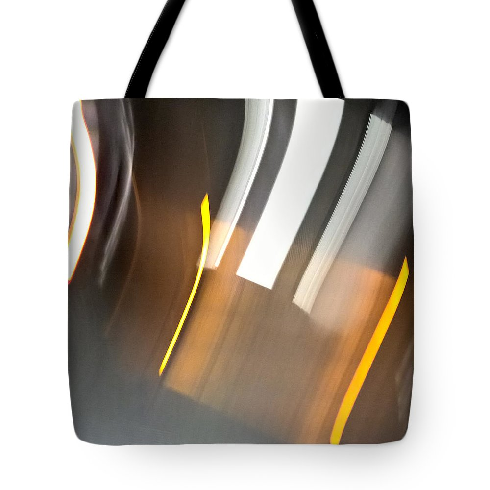 Night Tote Bag featuring the photograph Night At City Underground by Radka Zimova King